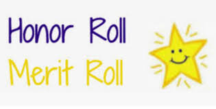 Honor and Merit Roll Students for 3rd Marking Period